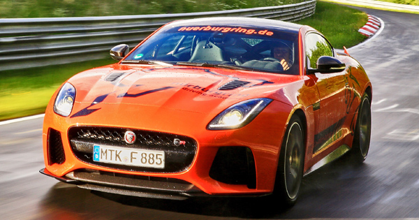 Great You Can Experience The Jaguar F Type SVR Around Nurburgring For P15,500