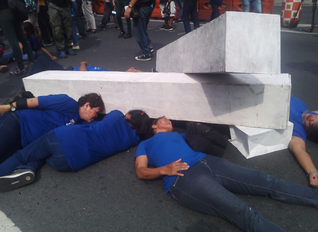 Guadalupe Bridge earthquake drill