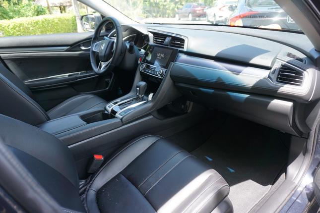 Honda Civic drive in Bohol