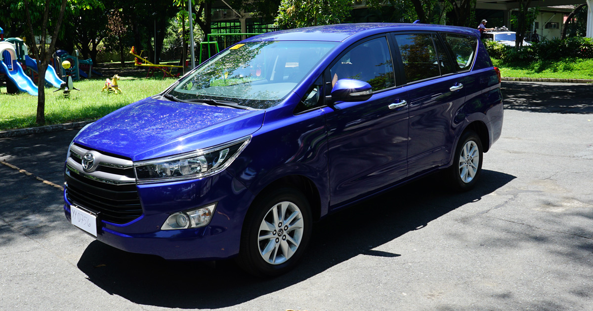 Uber Price Quote >> Toyota Innova Diesel MT 2016 Philippines: Review, Specs & Price | Drives | Top Gear Philippines