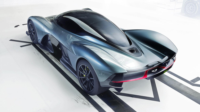 Aston Martin And Red Bull Reveal Am Rb 001 Hypercar