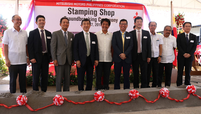 Mitsubishi Motors Philippines stamping shop