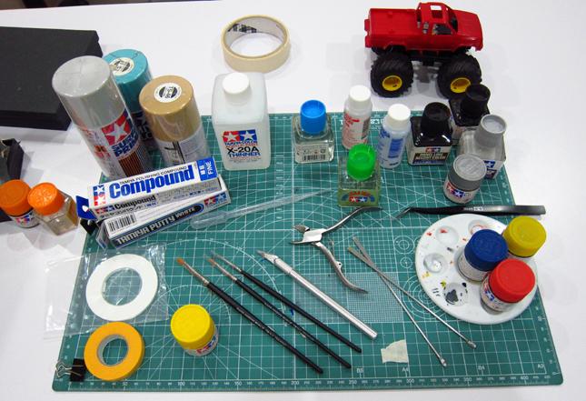How to build a scale model