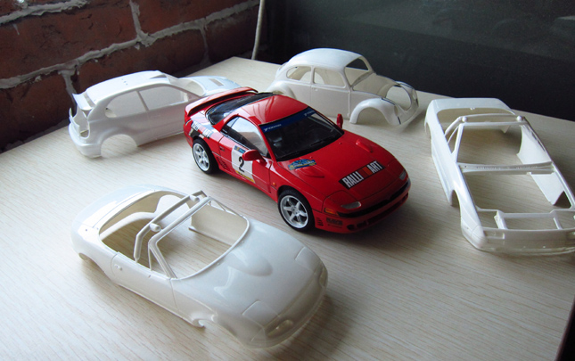 everything you need to make your scale model car look as realistic