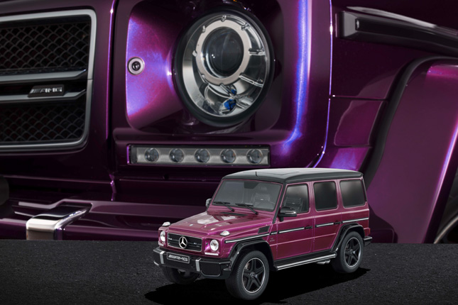 Merecdes-Benz G63 scale models
