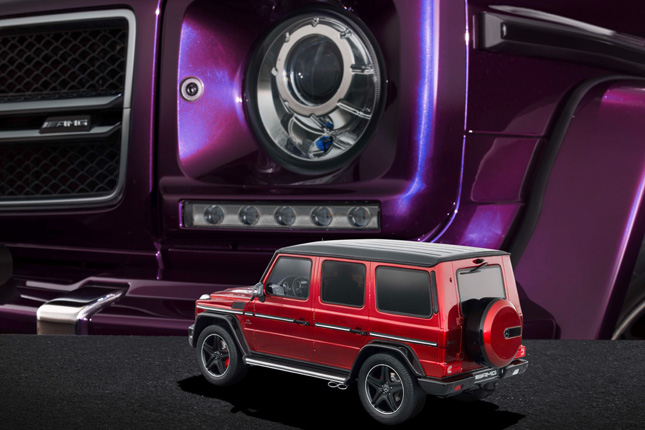 Mercedes-Benz G63 scale models