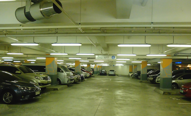 Promenade basement parking