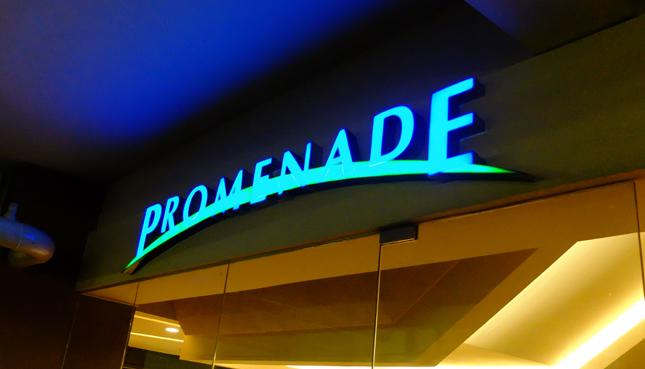 Promenade basement parking