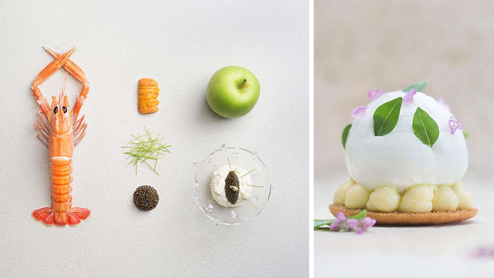 The extraordinary dishes at two michelin star restaurant for Odette s restaurant month