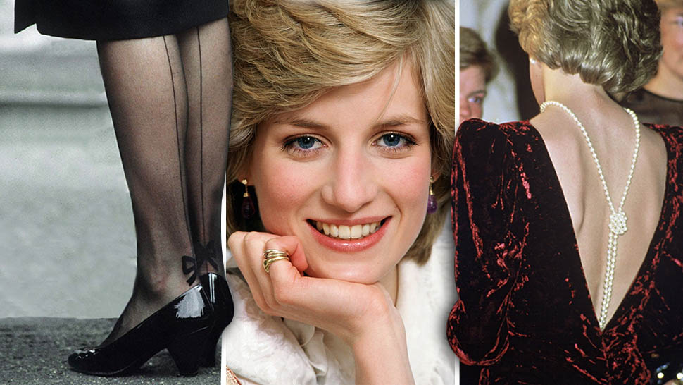 531dd0974f0 Blue Eyeliner and Statement Stockings: The Diana Style Secrets You Never  Noticed