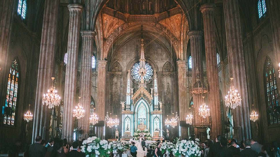 Church rates for wedding