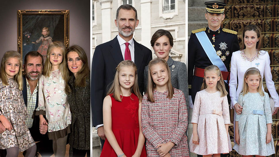 the spanish royal family just released their adorable 2017 christmas card - Royal Family Christmas Card