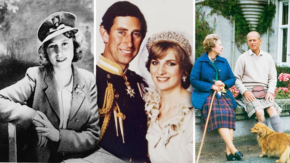 the royal family christmas cards through the years