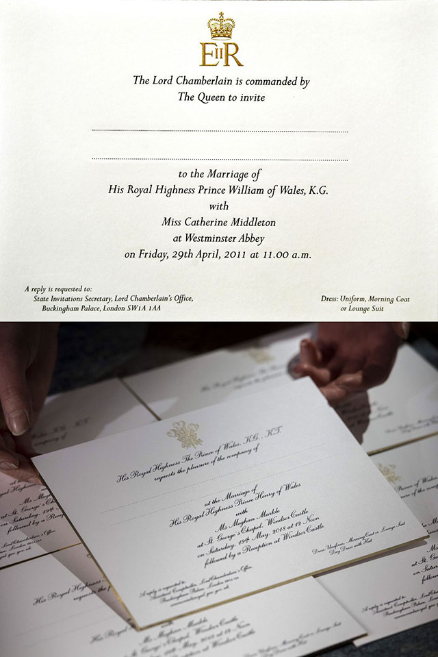 Meghan Markle\'s Wedding Invites Are Different from Kate Middleton\'s ...