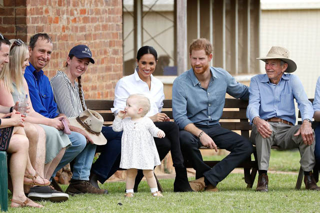 The Best Photos of Prince Harry and Meghan Markle's Royal Tour