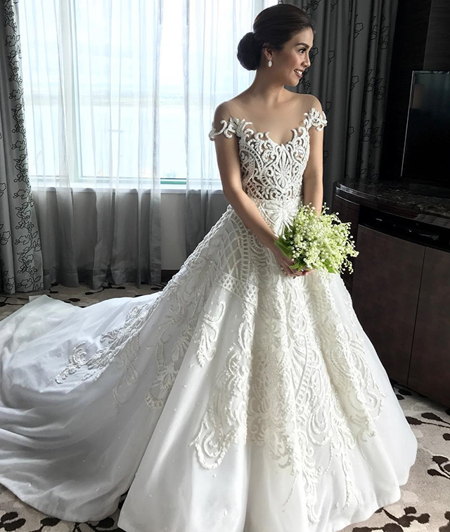 10 Of The Best Francis Libiran Wedding Gowns