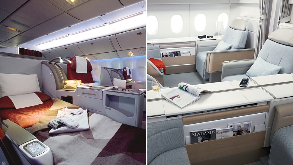 The Difference Between Flying First Class And Business Class