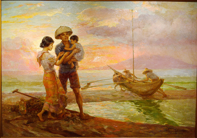 Image result for paintings of fernando amorsolo
