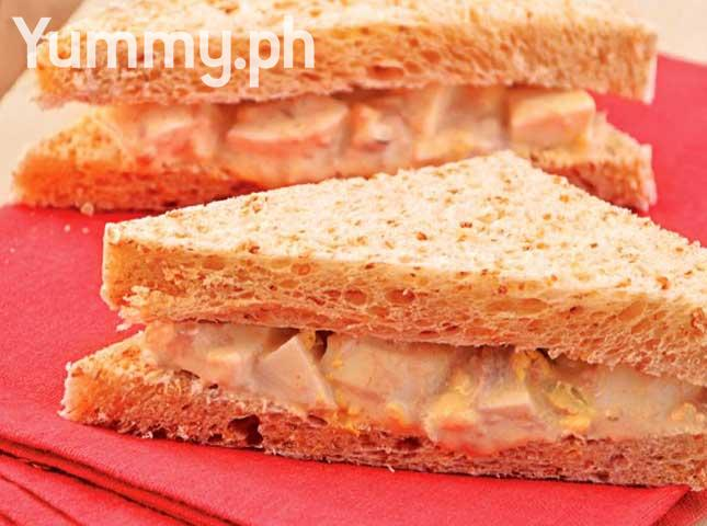Spicy tuna and egg sandwich for Tuna and egg sandwich