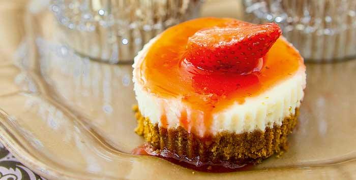 strawberry cheesecake cupcakes