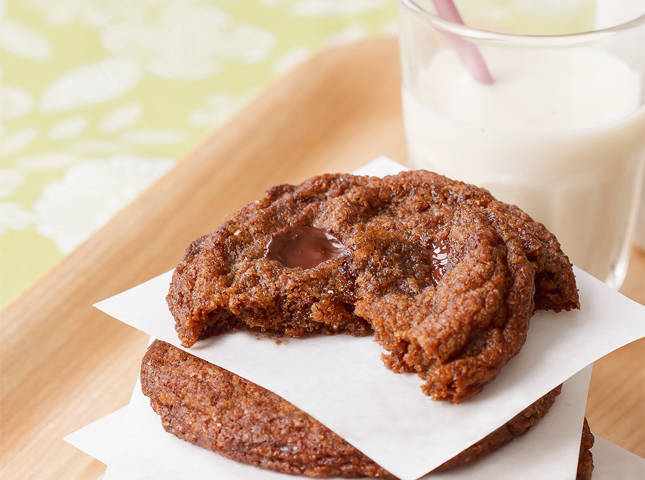 Whole Wheat Dark Chocolate Chip Cookies Recipe