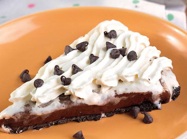 Frozen Choco Velvet Pie