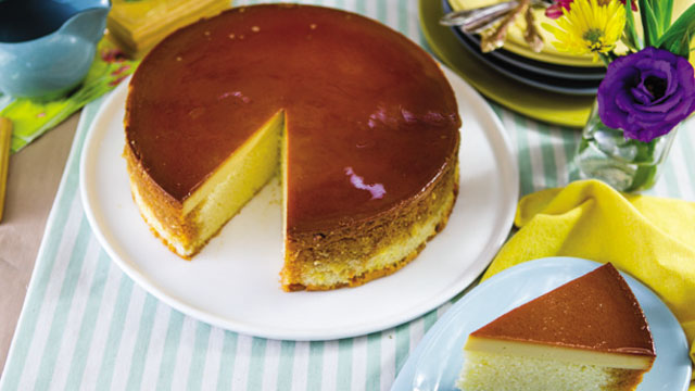 Ube Custard Cake Recipe