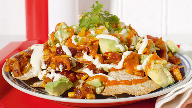 how to make loaded nachos