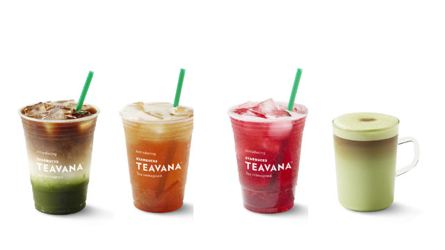 Starbucks is Now Serving Teavana Drinks in All Stores