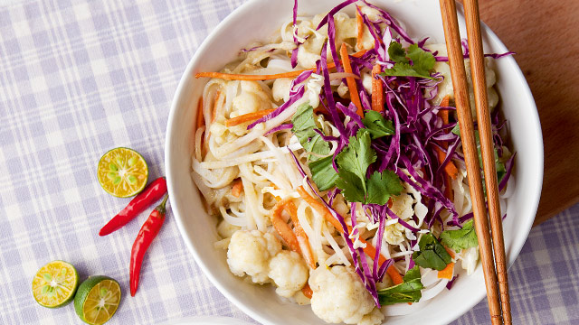 Coconut Curry Noodles Recipe