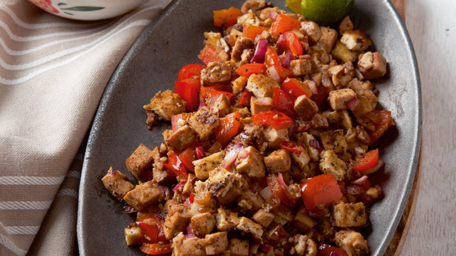 Easy sisig recipe how to cook crispy tofu sisig forumfinder Choice Image