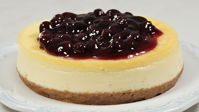 Watch How To Make Blueberry Cheesecake