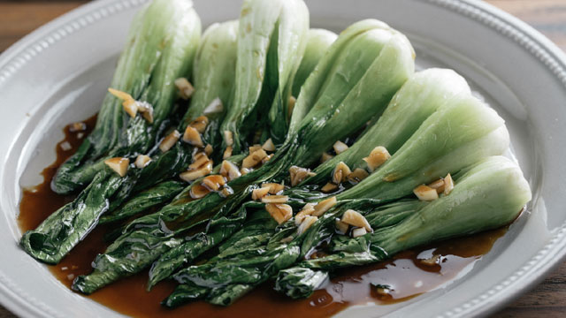 Simple cooking can be just as delicious as a more complicated recipes for bok choy.