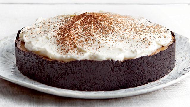 No Bake Mocha Chiffon Pie Recipe