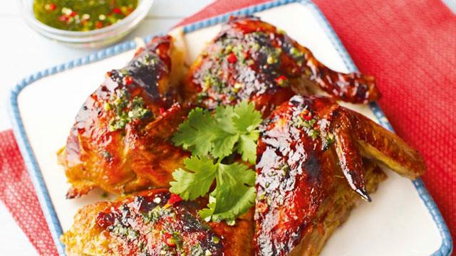 Thai-Style Grilled Chicken Recipe