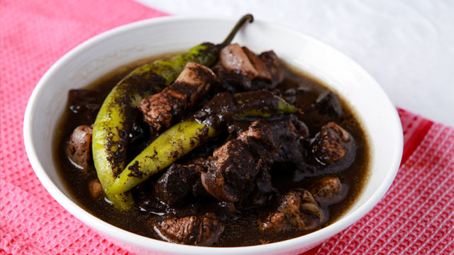 Pork dinuguan pork blood stew recipe forumfinder Images