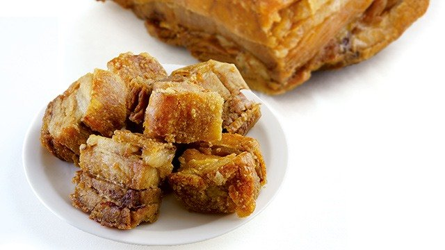 This lechon kawali recipe is a classic Filipino dish that you will find crispy on the outside, tender and juicy on the inside.