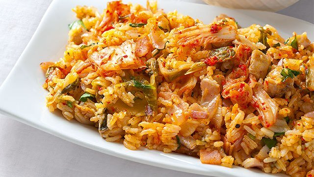 Chicken and kimchi fried rice recipe ccuart Images
