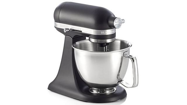 Add To Your Wishlist This Sleek Black Matte Kitchenaid
