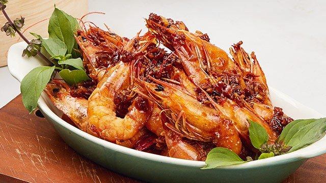 Stir-Fried Shrimp Recipe