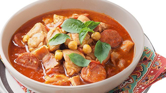 Chicken and Chorizo Stew Recipe