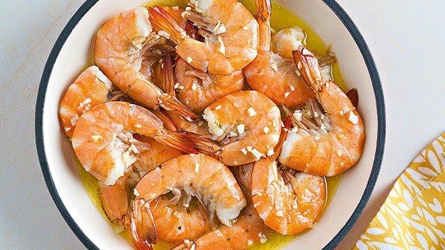 Shrimp in Lemon Sauce Recipe