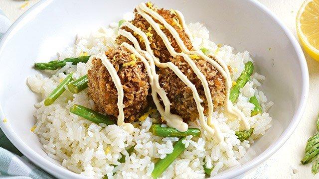 Salmon and Asparagus Rice Recipe
