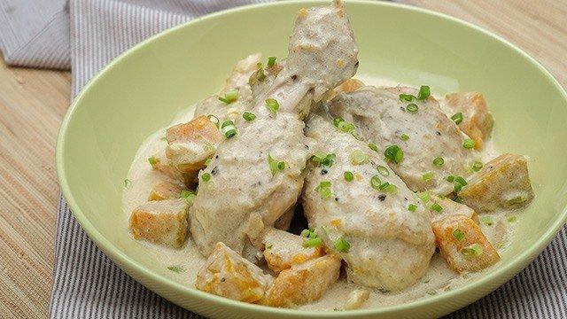 Ginataang Manok At Kalabasa Recipe