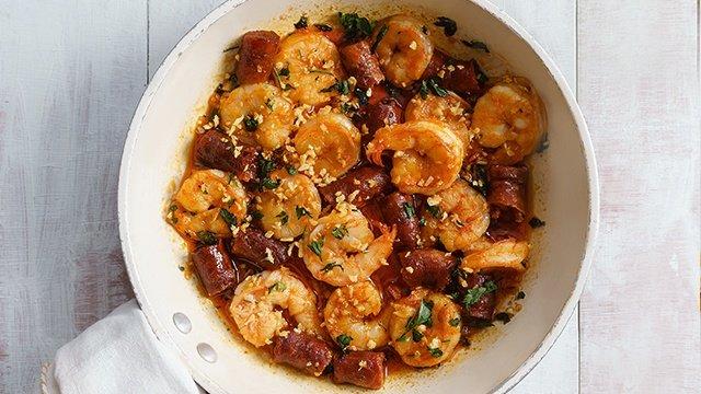 Spicy Chorizo Gambas Recipe