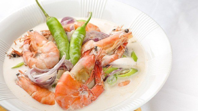 Ginataang Hipon (Shrimp in Coconut Cream) Recipe