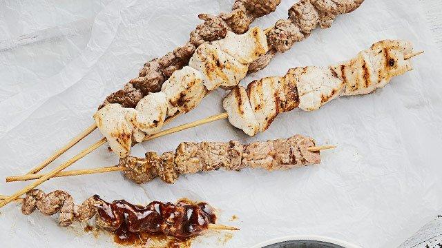 Beef and Chicken Satay Recipe
