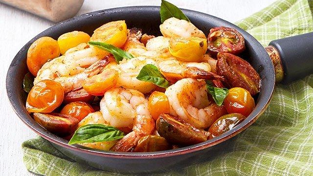 Shrimp and Cherry Tomato Stir-Fry Recipe