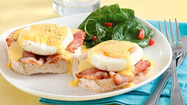 Easy Eggs Benedict With Pandesal Recipe