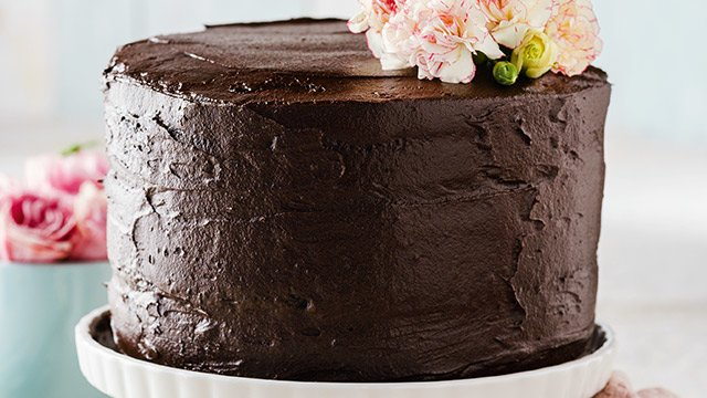 how to make a easy chocolate cake without oven